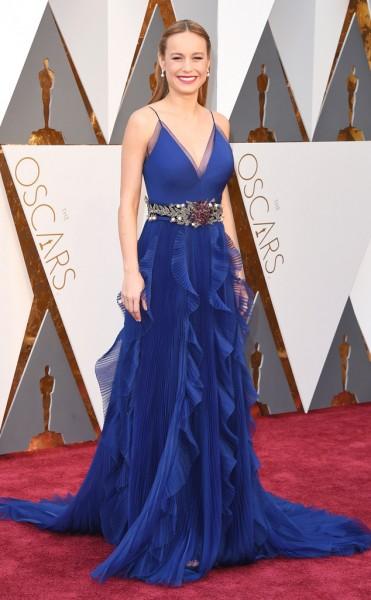 Brie Larson - Vestido Gucci