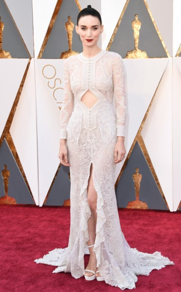 Rooney Mara - Vestido Givenchy
